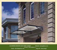 Aluminum gazebo kits for door hardware canopy