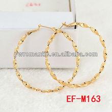 gold big hoop earrings wholesale china