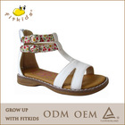 2014 BEST quality Hot selling new design girls fashion handmade sandals