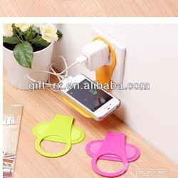 Plastic cell phone holder mobile phone charging holder