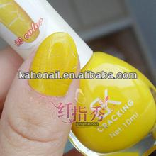 2014 hotsale barato venta al por mayor de grietas esmalte de uñas con etiqueta privada