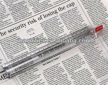 Advertising 20cm Handheld Transparent Plastic Bar magnifying glass ruler
