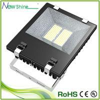 """""""Zipped fins"""" technology 150 watt led flood light projector"""