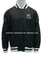 knitted jacket/blazer/ ad jacket, mcdonald uniform