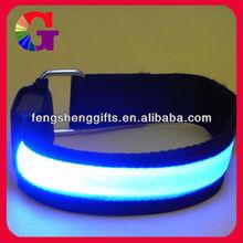 blue LED Visibility Flashing Safety Armband Cycling Jogging Walking Reflective LED Armband
