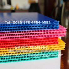 2mm 3mm 4mm Corrugated Plastic Sheets