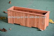 Flowers decoration box,wooden flower box planters,garden flowers box