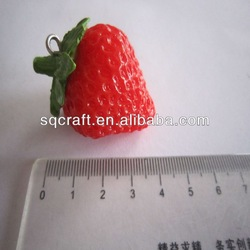 Fake mini fruit cute strawberry for promotion gift