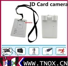 Mini DV ID Card Camera Video Recording - Built-in 4GB/8GB Memory , hidden camera