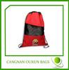 Promotional cheap gift drawstring bag/drawstring backpack