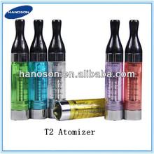 2.4ml capacity huge vapor changeable t2 atomizer