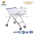 El estilo de europa centro comercial carrito de la compra/cesta rodante carro/de la calle y carros de venta