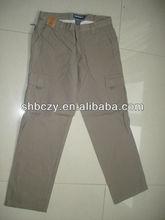 Six pockets work pants