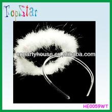 Hot Sale White Angle Big Halo Headband