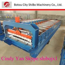 2014 TOP! color steel corrugated roof tile rolling former machinery,China Factory
