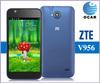 Low Cost ZTE V956 MTK6589 Quad core1.2GHz 4.5 Inch Dual Sim Multi-Language Unlocked WCDMA2100 WIFI GPS 3G Mobile Phone