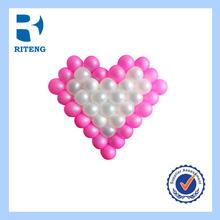 latex heart shape mini helium balloon