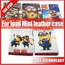 Luxury Leather Case for iPad Mini Case pu leather case for ipad mini