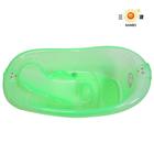 Large plastic portable bathtub for children