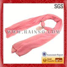 fine gauze polyester scarf Zhongda market Polyester fabric scarves wholesale