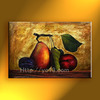 High quality direct factory handmade oil painting,Harvest fruit