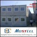 20 y 40 pies de metal estándar de contenedor de almacenamiento de los hogares