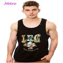 Crazy Basketball Jersey 100 cotton tank top