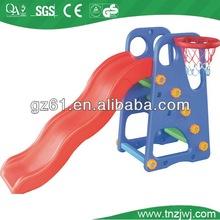 detachable plastic slide children toys small indoor basketball sport equipment