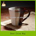 Pintado a mano nueva bone china café taza de cerámica, promoción taza de porcelana