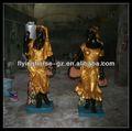 Rs-ew-071 Statues de noir personnes africain, Le noir femmes Statues