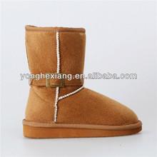 New design fashion buckle snow boots kids/child boys / girls