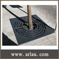 ( Tg02 ) exterior parque de la calle de fundición de hierro árbol de parrilla