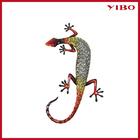 "20.8"" Wholesale Metal Art Gecko Christmas Wall Hanging"