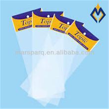 Header packaging bags with burrerfly hole , self adhesive seal bags,card bag OPP/Head card bag