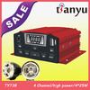 TYT737 made in china unique motorbike player new motorcycle anti-theft alarm 4X15/25W long distance