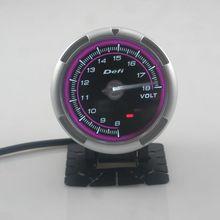 Defi-Link Meter ADVANCE C2 Volt Auto Gauge/Defi C2 Gauges Pink/Blue Model