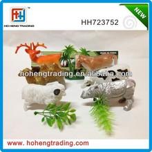 Plastic toy animall play set, toys animal,plastic animal 6pcs