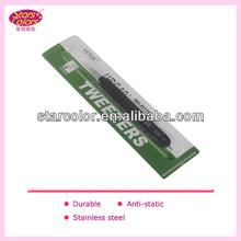 Factory price eyebrow tweezers with light