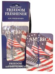 Freedom Freshener - USA FLAG CAR AUTO FRESHENERS