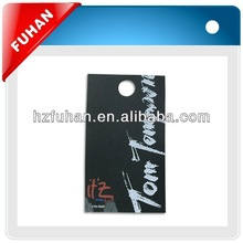 elegant new design printing screen hang tag