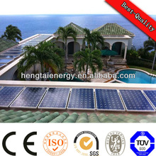 with government support enviromental protection monocrystalline silicon solar panel system 220V