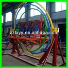 Amusement machine human gyroscope space ball for sale