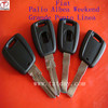 TD high quality fiat transponder key for fiat albea weekend ground punto linea palio