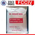 Hochwertige natürliche 617-48-1 bio-apfelsäure summenformel