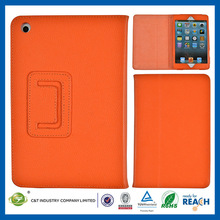C&T Vintage wallet pu leather stand cover for ipad mini