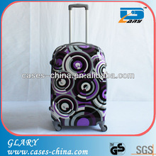 Colorful ABS PC travel suitcase luggage