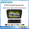 ZESTECH 7inch auto parts bluetooth steering wheel control for mitsubishi pajero