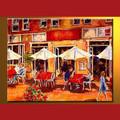 atacado handmade moderno pintura em tela de imagem para a galeria