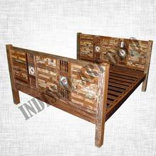 Recycled Teak Furniture Bed & Headboards