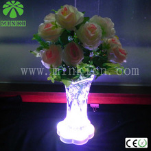 Wedding Stages Crystal Lighted Decorative Columns